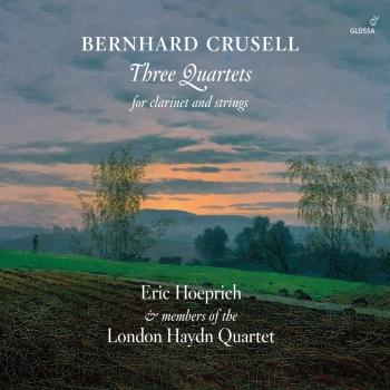 Cover Crusell: 3 Quartets for Clarinet & Strings