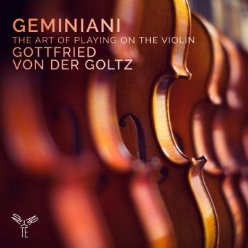 Cover Geminiani: The Art of Playing on the Violin