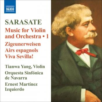 Cover Sarasate: Violin and Orchestra Music, Vol. 1