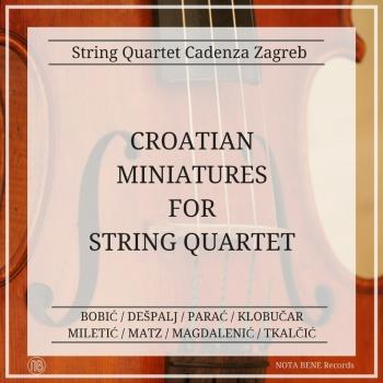 Cover Croatian Miniatures For String Quartet
