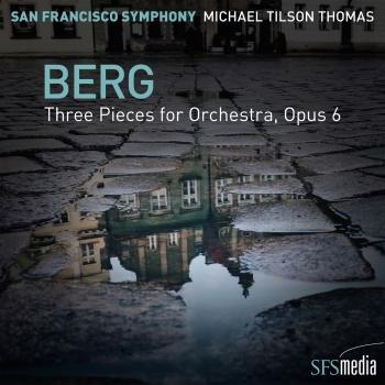Cover Berg: 3 Pieces for Orchestra