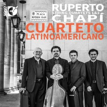 Cover Chapí: String Quartets Nos. 1 & 2