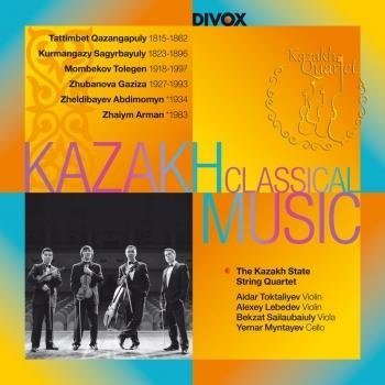 Cover Music for String Quartet by Kazakh Composers