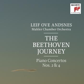 Cover The Beethoven Journey (Piano Concertos Nos. 2 & 4)