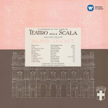 Cover Puccini: Manon Lescaut (1957 - Serafin) - Callas Remastered