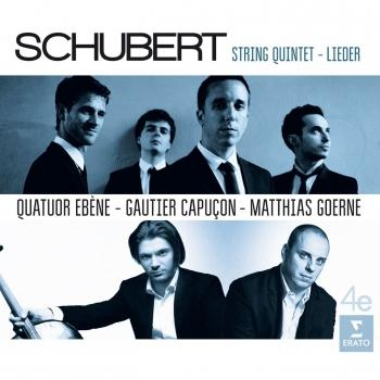 Cover Schubert: Quintet and Lieder