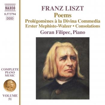 Cover Liszt: Poems
