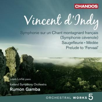 Cover D'Indy: Orchestral Works Vol. 5