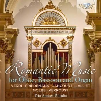 Cover Romantic Music for Oboe, Bassoon and Organ