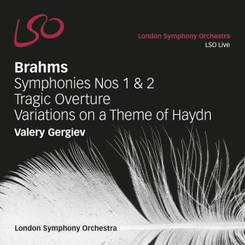 Cover Brahms: Symphonies Nos. 1 & 2 - Tragic Overture / Variations on a Theme by Haydn