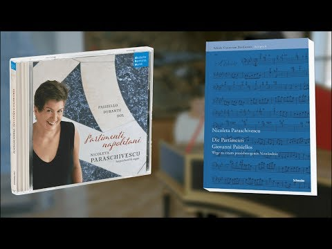 Video Nicoleta Paraschivescu - Giovanni Paisiello's Partimenti Book