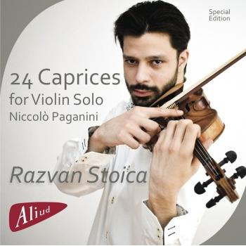 Cover Paganini: 24 Caprices for Violin Solo