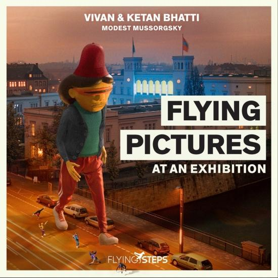 Cover Flying Pictures at an Exhibition