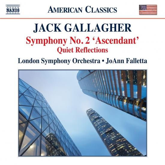Cover Jack Gallagher: Symphony No. 2 Ascendant & Quiet Reflections