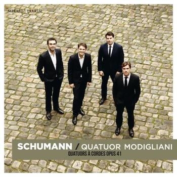 Cover Schumann: String Quartets Op. 41