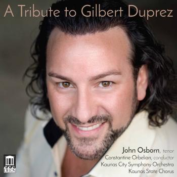 Cover A Tribute to Gilbert Duprez