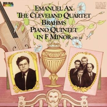 Cover Brahms: Piano Quintet in F Minor, Op. 34 (Remastered)