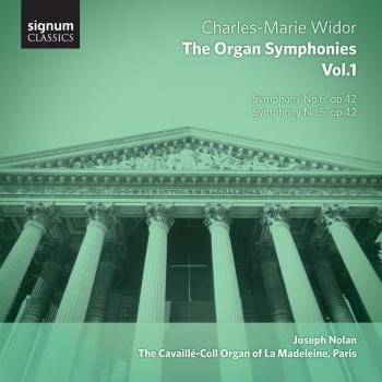 Cover Widor: The Organ Symphonies, Vol. 1