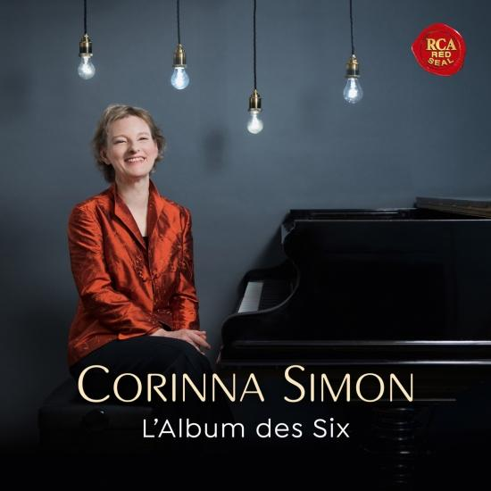 Cover L'Album des Six - Music by French Avant-Garde Composers of Early 20th Century
