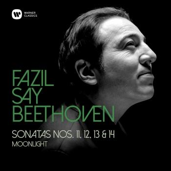 Cover Beethoven: Piano Sonatas Nos 11, 12, 13 & 14, 'Moonlight'