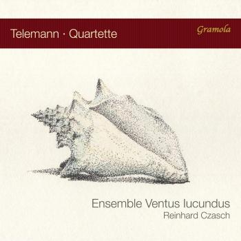 Cover Telemann Quartets