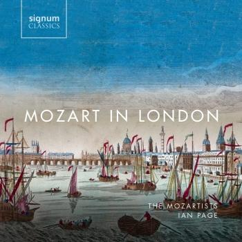 Cover Mozart in London
