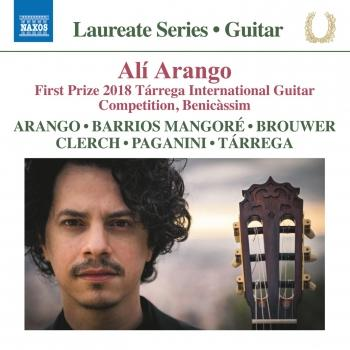 Cover Alí Arango, Leo Brouwer & Others: Guitar Works