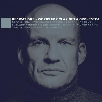 Cover Dedications - Works for Clarinet & Orchestra