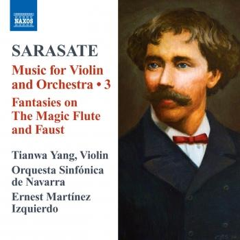 Cover Sarasate: Music for Violin and Orchestra, Vol. 3