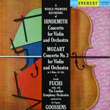 Cover Hindemith: Violin Concerto & Mozart: Violin Concerto No. 3 (Transferred from the Original Everest Records Master Tapes)