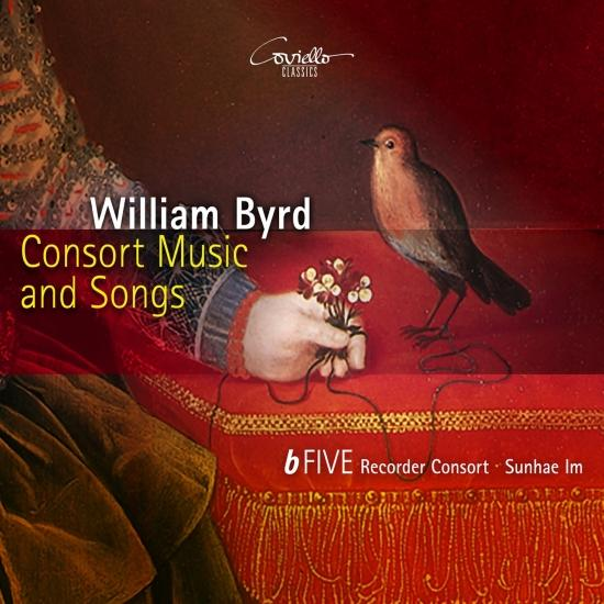 Cover William Byrd: Consort Music and Songs
