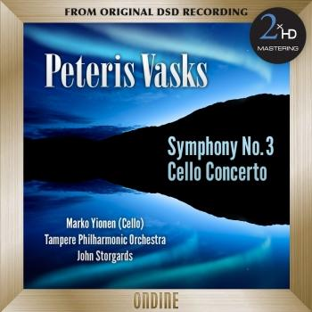 Cover Vasks: Symphony No. 3 - Cello Concerto (2015 Remaster)