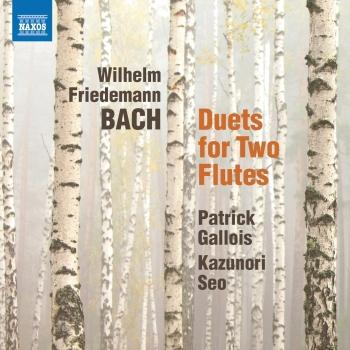 Cover W.F. Bach: 6 Duets for 2 Flutes