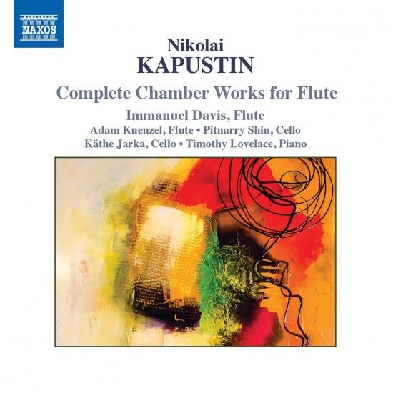 Cover Nikolai Kapustin: Complete Chamber Works for Flute