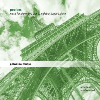 Cover Poulenc: Music for Piano, two Pianos and four-handed Piano