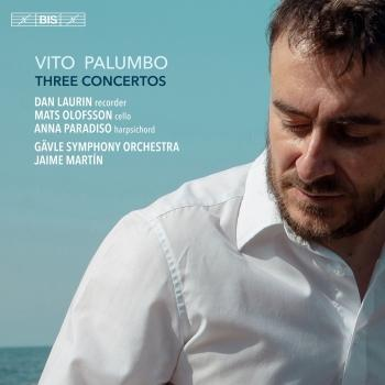 Cover Vito Palumbo: Three Concertos