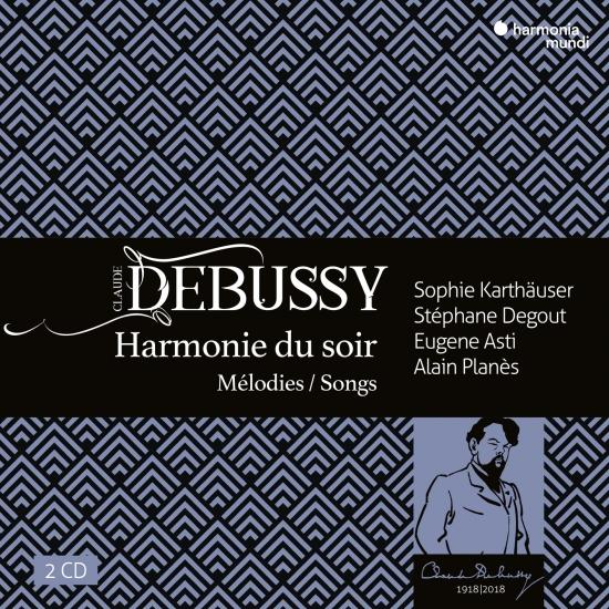 Cover Debussy: Harmonie du soir, mélodies & songs