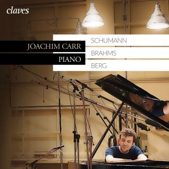 Cover Schumann, Brahms, Berg: Piano