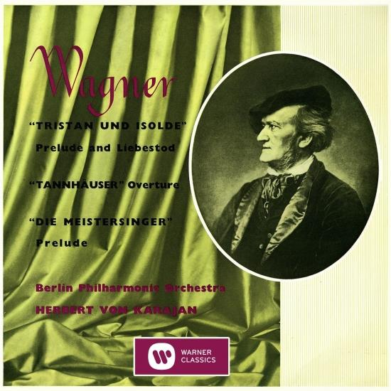 Cover Karajan conducts Wagner