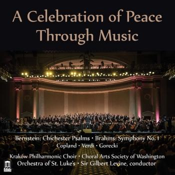 Cover A Celebration of Peace Through Music (Live)
