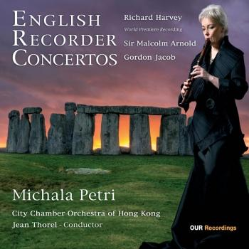 Cover English Recorder Concertos