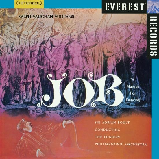 Cover Vaughan Williams: Job, A Masque for Dancing (Remastered)