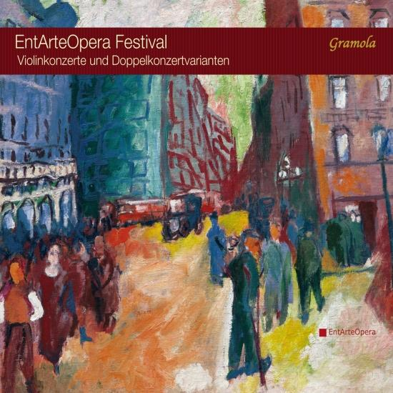 Cover EntArteOpera Festival: Concerto for Violin & Double Concertos