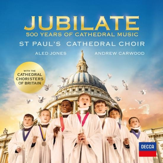 Cover Jubilate - 500 Years Of Cathedral Music