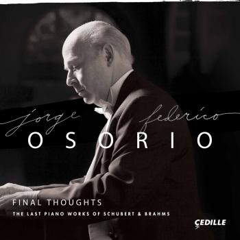 Cover Final Thoughts: The Last Piano Works of Schubert & Brahms
